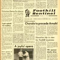 Foothill Sentinel December 8 1967