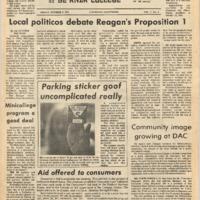 De Anza La Voz October 5 1973