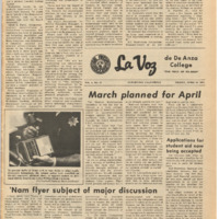De Anza La Voz April 16 1971