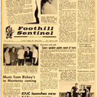 Foothill Sentinel April 8 1960