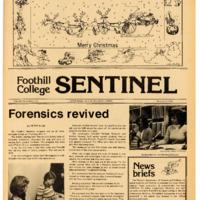 Foothill Sentinel December 9 1976