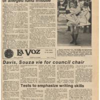 De Anza La Voz May 12 1978