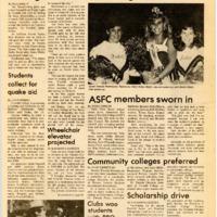 Foothill Sentinel October 18 1985