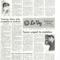 De Anza La Voz October 24 1969