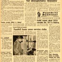 Foothill Sentinel November 9 1962