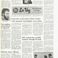 De Anza La Voz February 14 1969