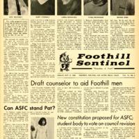Foothill Sentinel October 11 1968
