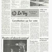 De Anza La Voz December 8 1967