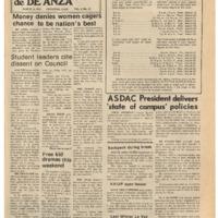 De Anza La Voz March 14 1975