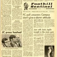 Foothill Sentinel April 26