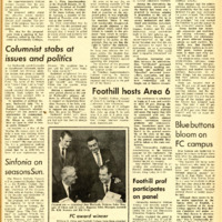 Foothill Sentinel March 7 1969