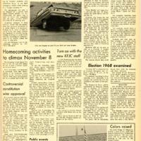 Foothill Sentinel October 25 1968