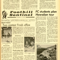 Foothill Sentinel March 8