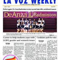 De Anza La Voz May 19 2014