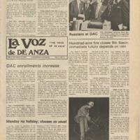 De Anza La Voz October 25 1974