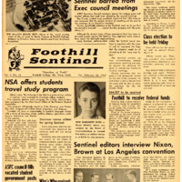 Foothill Sentinel February 26 1960