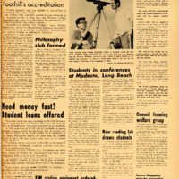 Foothill Sentinel March 13 1959