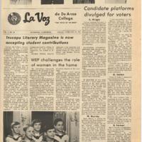 De Anza La Voz February 18 1972