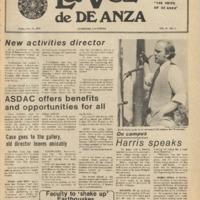 De Anza La Voz October 15 1976