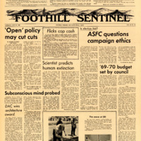 Foothill Sentinel May 29 1969