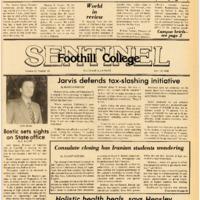 Foothill Sentinel April 18 1980