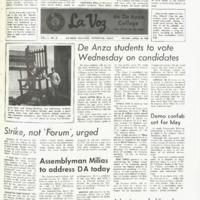 De Anza La Voz April 19 1968