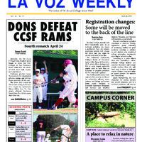 De Anza La Voz April 22 2013