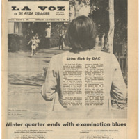 De Anza La Voz March 15 1974