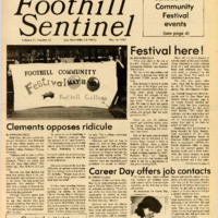 Foothill Sentinel May 10 1985
