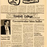Foothill Sentinel October 26 1979