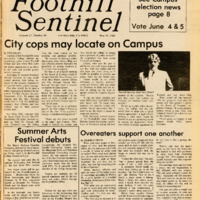Foothill Sentinel May 31 1985