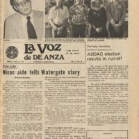 De Anza La Voz May 28 1976