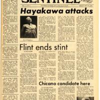 Foothill Sentinel October 23 1970