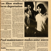 Foothill Sentinel March 5 1982