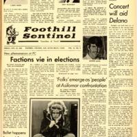 Foothill Sentinel November 22 1968