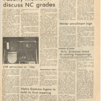 De Anza La Voz January 7 1972