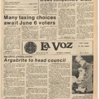 De Anza La Voz May 26 1978