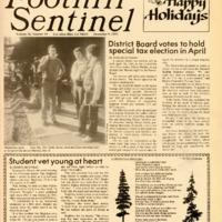 Foothill Sentinel December 9 1983