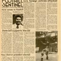 Foothill Sentinel December 7 1984