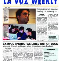 De Anza La Voz February 18 2014