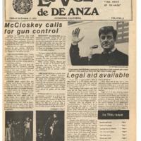 De Anza La Voz October 17 1975