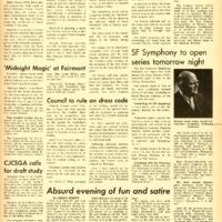 Foothill Sentinel December 9 1966