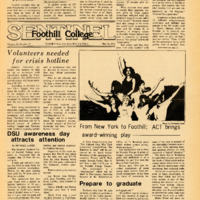 Foothill Sentinel May 26 1978