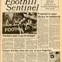 Foothill Sentinel June 7 1985