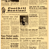 Foothill Sentinel January 15 1960