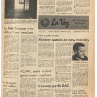 De Anza La Voz September 25 1968