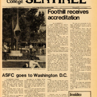Foothill Sentinel March 18 1977