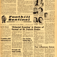 Foothill Sentinel May 20 1960