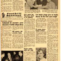 Foothill Sentinel March 3 1962