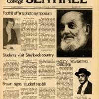 Foothill Sentinel November 8 1977